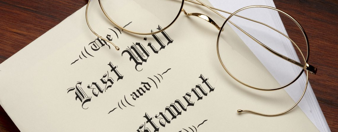 Wills; Estate Planning